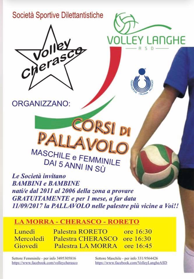 Volley Cherasco e Asd Volley Langhe uniscono le forze