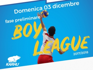 Boy league Under 13, Cuneo ospita il turno preliminare 1